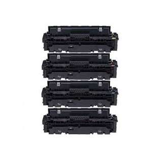 Compatible Canon 055 toner cartridges - WITHOUT CHIP - 4-pack