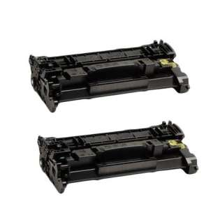 Compatible Canon 057 (3009C001) toner cartridges - WITHOUT CHIP - 2-pack