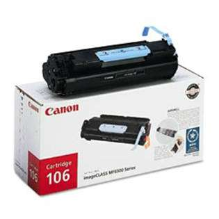 Canon 106 Genuine Original (OEM) laser toner cartridge, 5000 pages, black