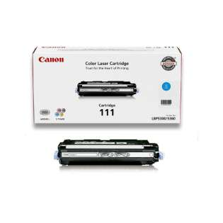 Original Canon 1659B001 (111) toner cartridge - cyan