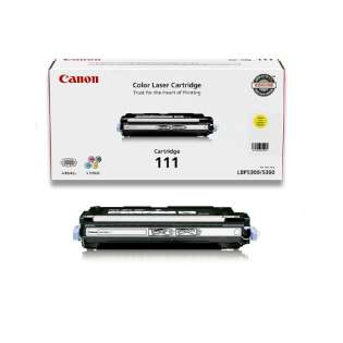 Original Canon 1657B001 (111) toner cartridge - yellow