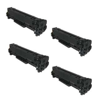Compatible Canon 118 toner cartridges - Pack of 4