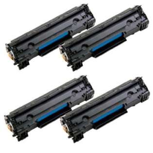 Compatible Canon 125 toner cartridges (pack of 4)