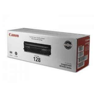 Canon 128 Genuine Original (OEM) laser toner cartridge, 2100 pages, black