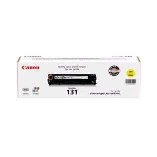 Canon 131 Genuine Original (OEM) laser toner cartridge, 1500 pages, cyan