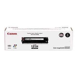 Canon 131 II Genuine Original (OEM) laser toner cartridge, 2400 pages, high capacity yield, black