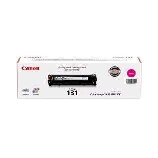 Canon 131 Genuine Original (OEM) laser toner cartridge, 1500 pages, magenta