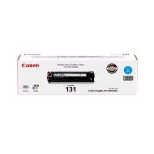 Canon 131 Genuine Original (OEM) laser toner cartridge, 1500 pages, yellow
