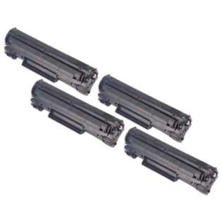 Compatible Canon 137 toner cartridges (pack of 4)