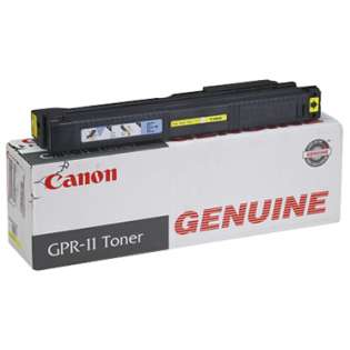Canon GRP-11 Genuine Original (OEM) laser toner cartridge, 25000 pages, yellow
