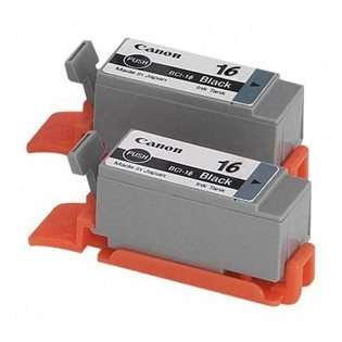 Canon BCI-16 Genuine Original (OEM) ink cartridges (pack of 2)