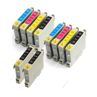 Compatible Multipack for Canon BCI-21 / BCI-24 - 12 pack