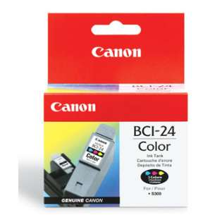 Canon BCI-24C Genuine Original (OEM) ink cartridge, color
