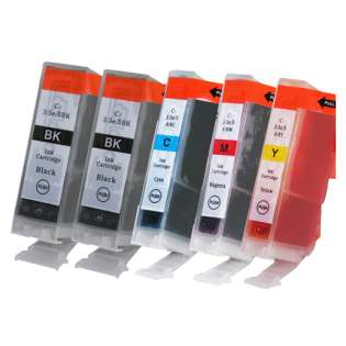 Compatible Multipack for Canon BCI-3 - 5 pack