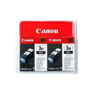 Canon BCI-3Bk Genuine Original (OEM) ink cartridges (pack of 2)