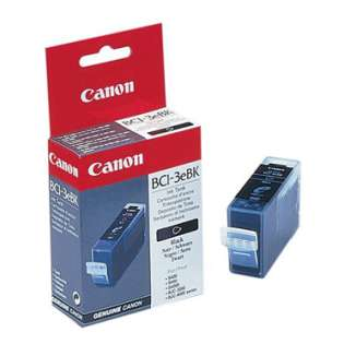 Canon BCI-3BK Genuine Original (OEM) ink cartridge, black