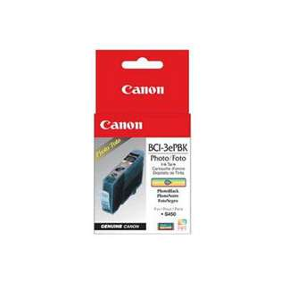Canon BCI-3PBK Genuine Original (OEM) ink cartridge, photo black