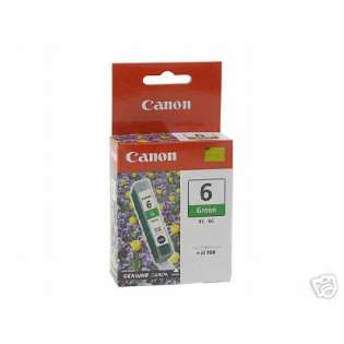 Canon BCI-6G Genuine Original (OEM) ink cartridge, green