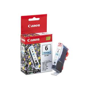 Canon BCI-6PC Genuine Original (OEM) ink cartridge, photo cyan