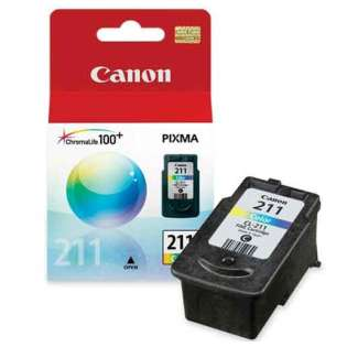 Canon CL-211 Genuine Original (OEM) ink cartridge, color