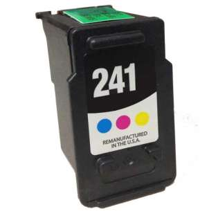 Remanufactured Canon CL-241 ink cartridge, color