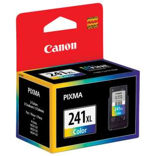 Canon CL-241XL Genuine Original (OEM) ink cartridge, high capacity yield, color, 400 pages