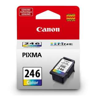 Canon CL-246 Genuine Original (OEM) ink cartridge, color, 180 pages