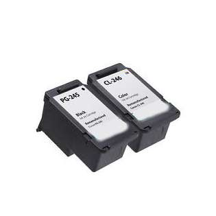 Compatible ink cartridges Multipack for Canon PG-245 / CL-246 - 2 pack