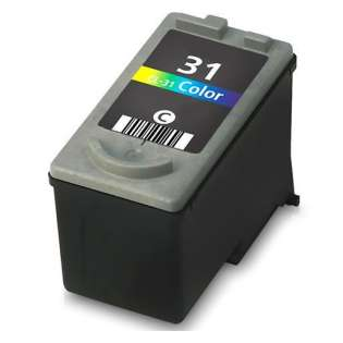 Remanufactured Canon CL-31 ink cartridge - color