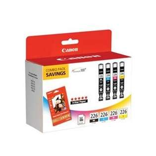 Canon CLI-226 Genuine Original (OEM) ink cartridges (pack of 4)
