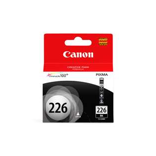 Canon CLI-226BK Genuine Original (OEM) ink cartridge, black