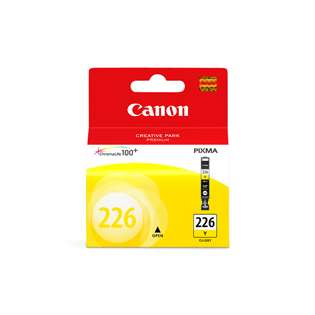 Canon CLI-226Y Genuine Original (OEM) ink cartridge, yellow