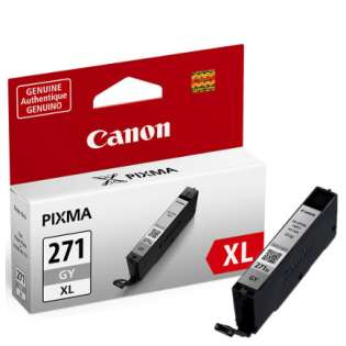 OEM Canon CLI-271GY XL cartridge - gray