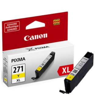 OEM Canon CLI-271Y XL cartridge - yellow