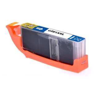 Compatible print ink cartridge for Canon CLI-281C XXL - cyan