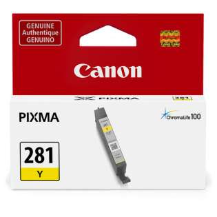 Original Canon CLI-281Y print ink cartridge - yellow