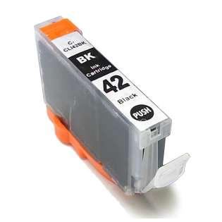 Compatible inkjet cartridge for Canon CLI-42BK - black