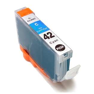Compatible inkjet cartridge for Canon CLI-42BK - cyan