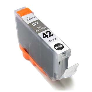 Compatible inkjet cartridge for Canon CLI-42BK - gray