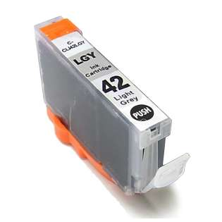 Compatible inkjet cartridge for Canon CLI-42BK - light gray
