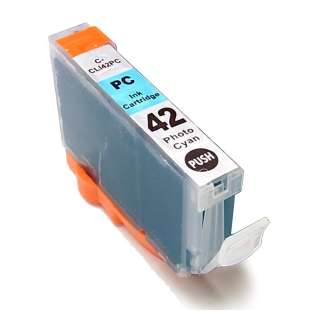 Compatible inkjet cartridge for Canon CLI-42BK - photo cyan