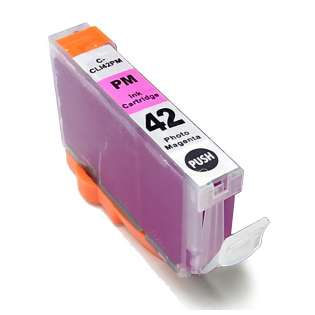 Compatible inkjet cartridge for Canon CLI-42BK - photo magenta