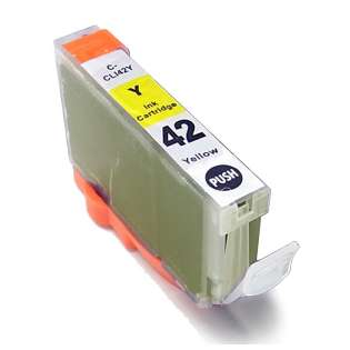 Compatible inkjet cartridge for Canon CLI-42BK - yellow