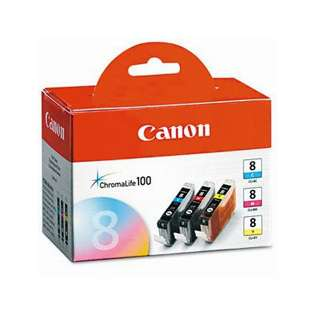 OEM Canon 0621B016 / CLI-8 Multipack - 3 pack