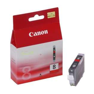 Canon CLI-8R Genuine Original (OEM) ink cartridge, red