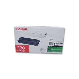 Canon E20 Genuine Original (OEM) laser toner cartridge, 2000 pages, black