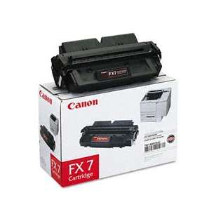 Canon FX-7 Genuine Original (OEM) laser toner cartridge, 4500 pages, black