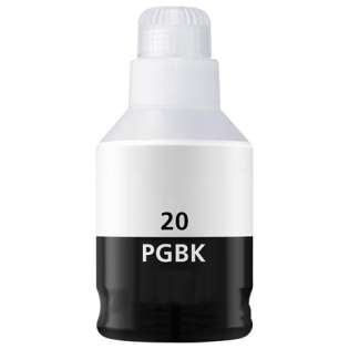 Compatible inkjet bottle for Canon GI-20BK - black
