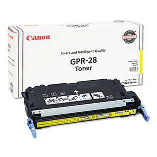 Original (Genuine OEM) Canon 1657B004 (GPR-28) toner cartridge - yellow