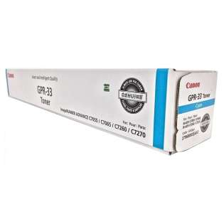 Original (Genuine OEM) Canon 2796B003AA (GPR-33) toner cartridge - cyan